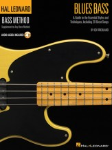 Blues Bass (Bk/Cd)
