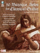 50 Baroque Solos For Classical Guitar (B