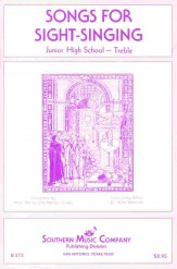 Songs For Sight Singing Junior High