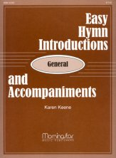 EASY HYMN INTROS & ACCOMPANIMENTS-GENERA