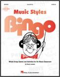 Music Styles Bingo