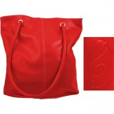 Tote/Purse: G Clef (Red)