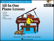 All-In-One Piano Lessons Bk B (Bk/Cd)