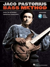 Jaco Pastorius Bass Method (Bk/Cd)