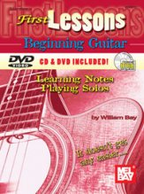 First Lessons Beginning Guitar (Bk/CD/Dv