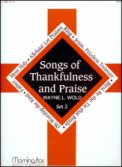 Songs of Thankfulness and Praise Set 2