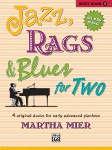 Jazz Rags & Blues For Two Bk 5