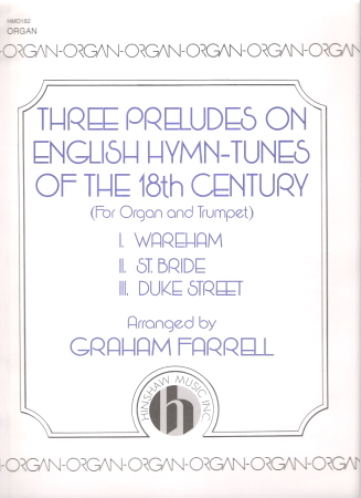 3 PRELUDES ON ENGLISH HYMN-TUNES (W/ORG)