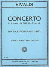 Concerto In B Minor F IV #10 (Op 3 #10)