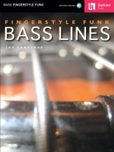 Fingerstyle Funk Bass Lines (Bk/Cd)