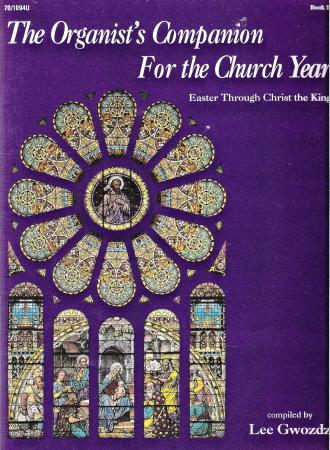 ORGANIST'S COMPANION FOR THE CHURCH YR 2