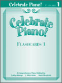 Flashcards Celebrate Piano 1