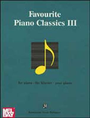 Favourite piano classics 3 sheet music sku 800274 for Piano house classics