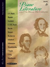 Piano Literature Bk 6
