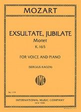 EXSULTATE JUBILATE K165