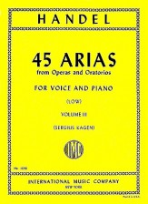 45 Arias From Operas and Orato Vol 3