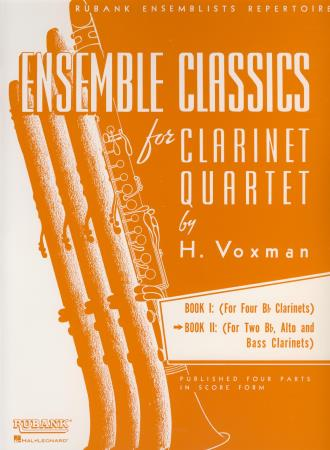 Ensemble Classics For Clarinet Bk 2