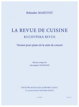 La revue de cuisine sheet music by christopher hogwood for Revue de cuisine