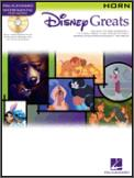 Disney Greats (Bk/Cd)