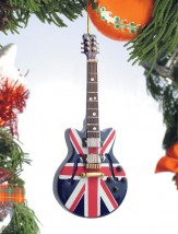 Ornament: Guitar Union Jack
