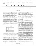 Basic Rhythms For Bell Choirs