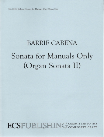 Sonata For Manuals Only (Organ Sonata 2)