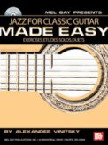 Jazz For Classic Guitar Made Easy(Bk/Cd)