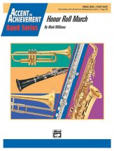 Honor Roll March: E-flat Baritone Saxophone