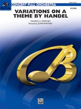 Variations on a Theme by Handel: 1st B-flat Clarinet