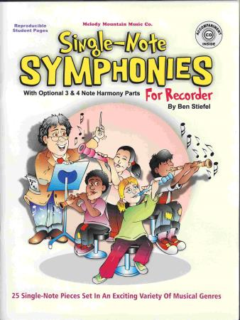 Single-Note Symphonies (For Recorder)