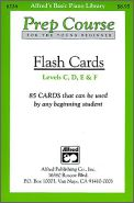 Flashcards Prep Course Levels C-F