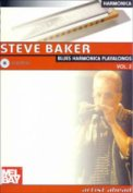 Blues Harmonica Playalongs Vol 2 (Bk/C