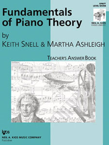 Fundamentals of Piano Theory Lev 7 Answe