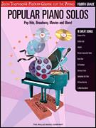 Popular Piano Solos Fourth Grade