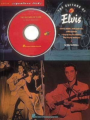 Guitars of Elvis W/CD