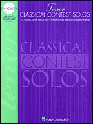 Classical Contest Solos (Bk/Cd)