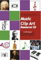 Music Clip Art Resource CD