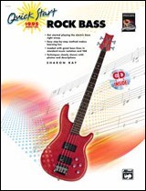 Quick Start Rock Bass (Bk/Cd)