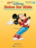 More Disney Solos For Kids (Bk/Cd)