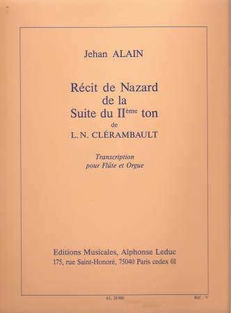 RECIT DE NAZARD (W/ORGAN)