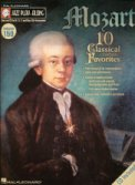 Jazz Play Along V159 Mozart (Bk/Cd)