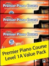 Alfred's Premier Piano Lev 1a Value Pack