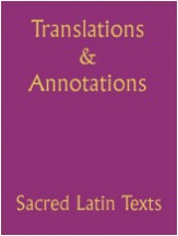 Translations & Annotations of Latin Text