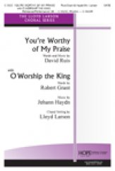 You're Worthy of My Praise W/O Worship T