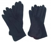 Glove: Black Velcro With Dots (M)