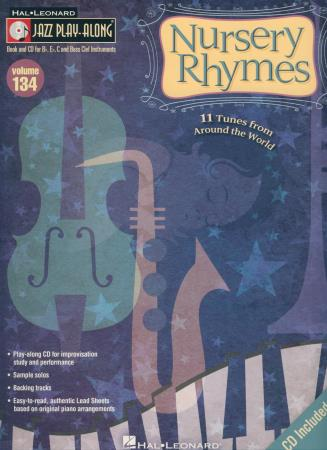 Jazz Play Along V134 Nursery Rhymes