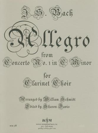 Allegro From Concerto #1 In C Minor