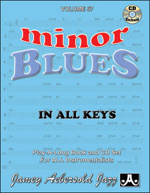 Minor Blues In All Keys Vol 57