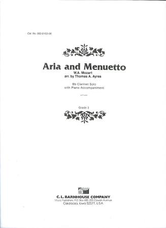 Aria and Menuetto