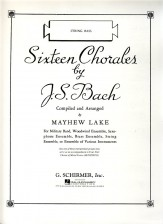 16 Chorales (String Bass)